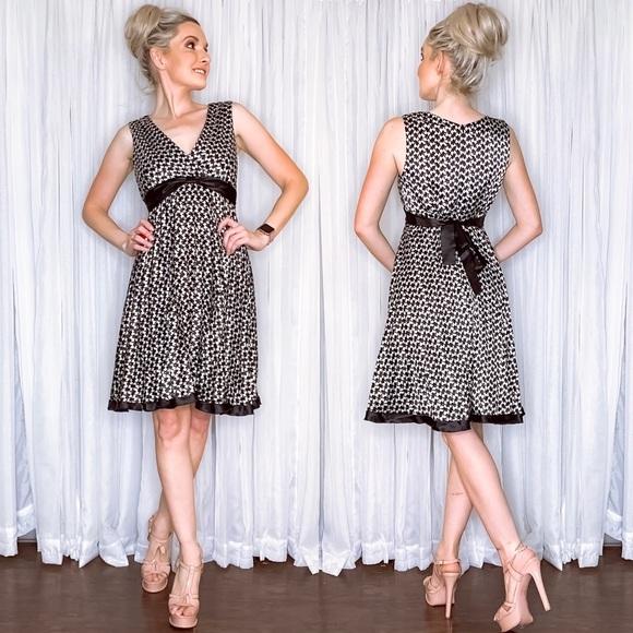Rabbit Rabbit Rabbit Dresses & Skirts - Houndstooth Cocktail Party Dress